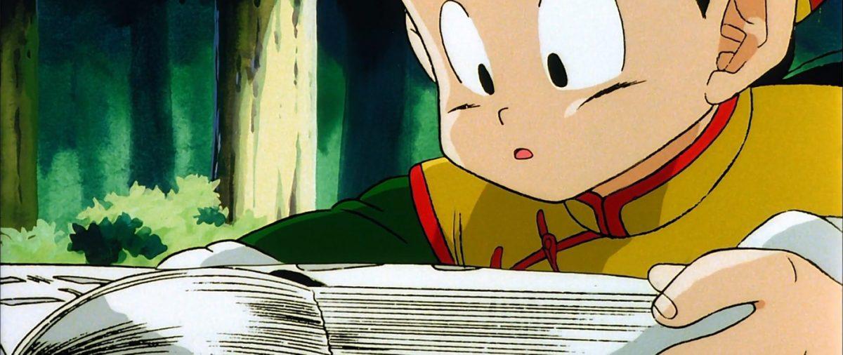 Dragonball Z Gohan reading