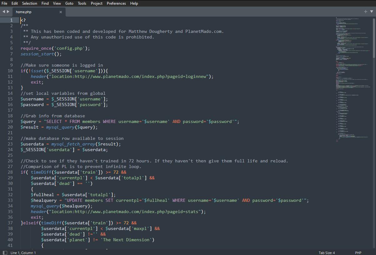 Planet Mado dbz rpg browser game code